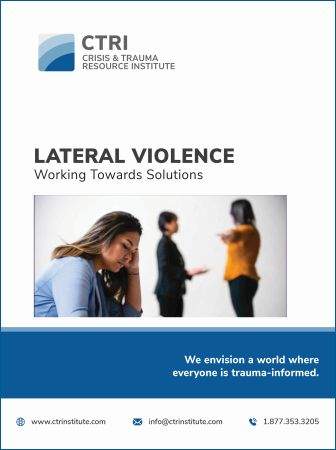 Image of lateral violence manual cover