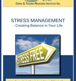 Image for Stress Management manual cover