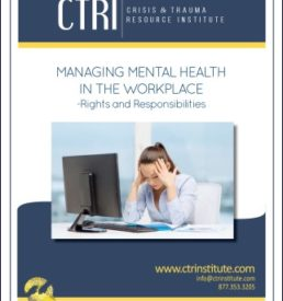 Image of mental health in the workplacemanual cover