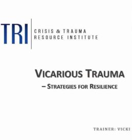 Image of Vicarious Trauma webinar