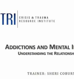 Image of Addictions and Mental Illness webinar