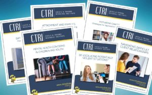 Photo of multiple CTRI manuals