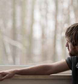 Addictions and Mental Illness workshop photo of man gazing out window