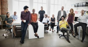 The Culture Question image of variety of people working together