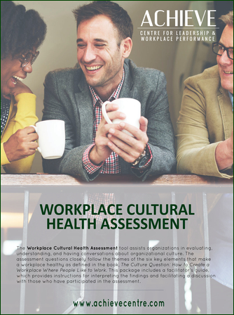 Image of Workplace Cultural Health Assessment Tool