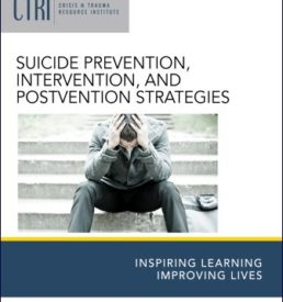 Image for Suicide Prevention manual cover