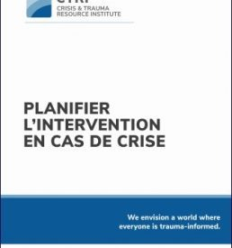 Crisis Response Planniing - FRENCH Version