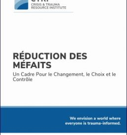 Harm Reduction - FRENCH manual image