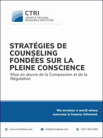 Mindfulness Counselling Strategies - FRENCH Manual cover