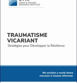 Vicarious Trauma - FRENCH manual cover