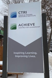 CTRI and ACHIEVE sign photo