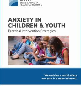 Image of Anxiety in Children and Youth manual cover