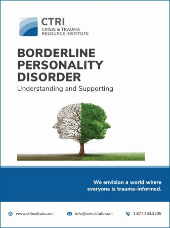 Image of Borderline Personality Disorder manual cover