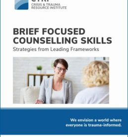Photo of Brief Focused Counselling Skills manual cover