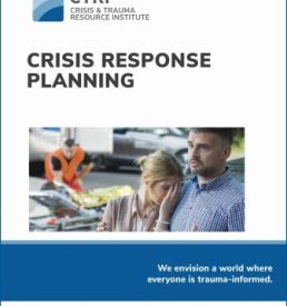 Image of Manual cover for Crisis Response Planning