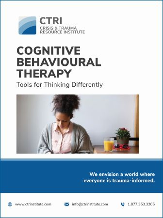 Image of Manual Cover COGNITIVE BEHAVIOURAL THERAPY