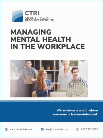 Managing Mental Health in the Workplace Manual Image