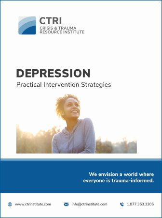 Photo of Depression manual cover