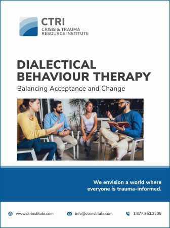 Manual cover for Dialectical Behaviour Therapy