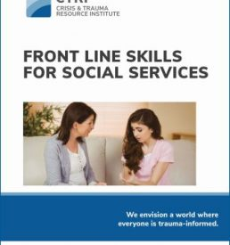 FRONT LINE SKILLS FOR SOCIAL SERVICES Cover