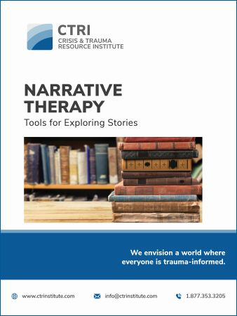 Narrative Therapy – Tools for Exploring Stories manual cover