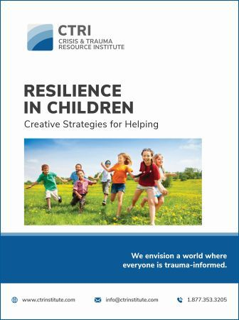 Image of RESILIENCE IN CHILDREN CTRI Manual Cover