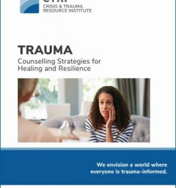 Manual cover for Trauma Counselling Strategies for Healing and Resilience