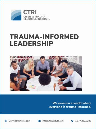 Image of manual cover for Trauma-Informed Leadership