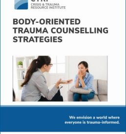 Body-Oriented Trauma Counselling Strategies manual cover